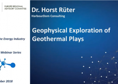 ERAC Webinar: Geophysical Exploration of Geothermal Plays