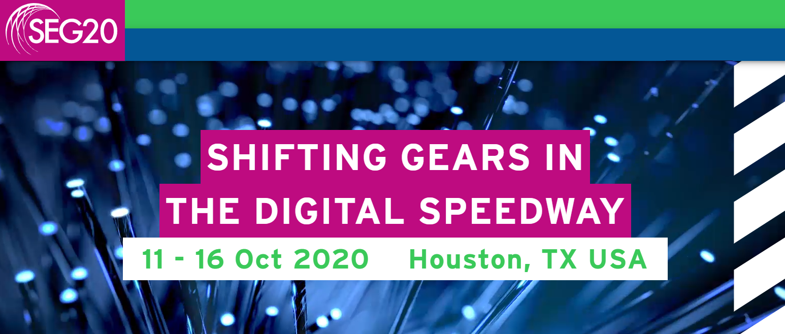 SEG 2020 Annual Meeting: Shifting Gears in the Digital Speedway