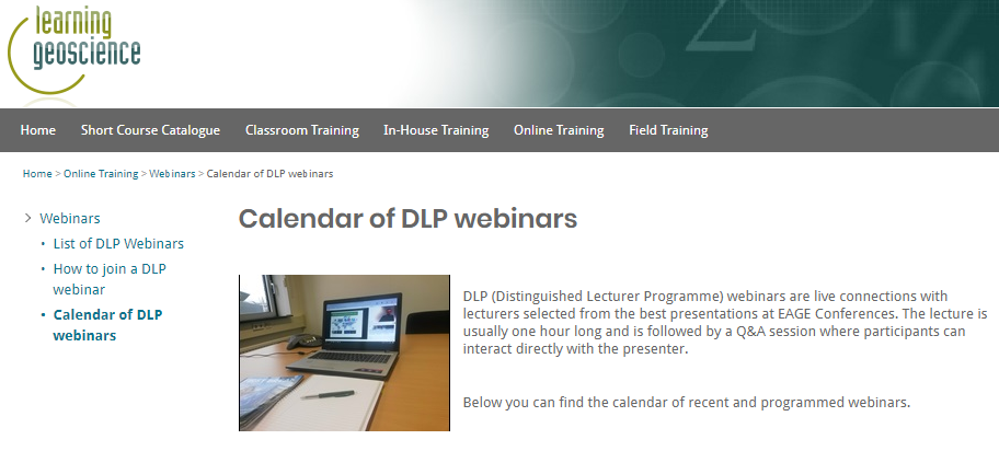 Feb 2020: Calendar of DLP webinars