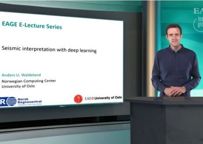 EAGE E-Lecture: Seismic interpretation with deep learning by Anders U. Waldeland