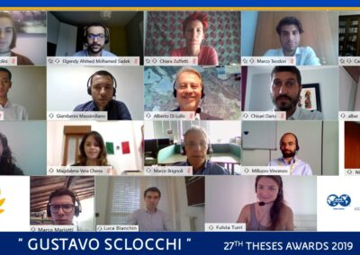 Gustavo Sclocchi – 27th Theses Award 2019: AWARD CEREMONY