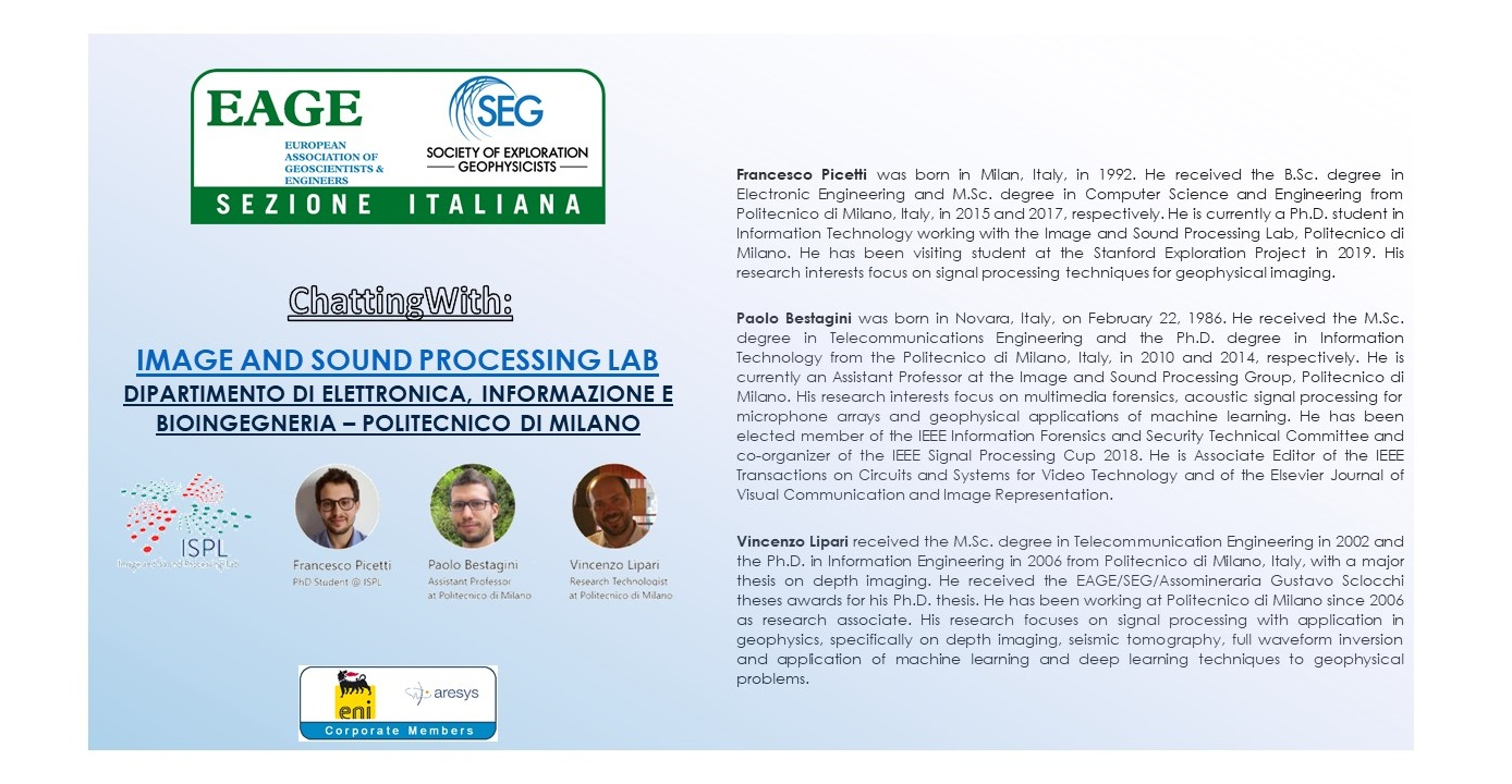 ChattingWith Image and Sound Processing Lab (ISPL) Department of Elettronica, Informazione e Bioingegneria – Politecnico di Milano