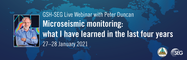 Webinar: Microseismic Monitoring: What I have learned in the last four years