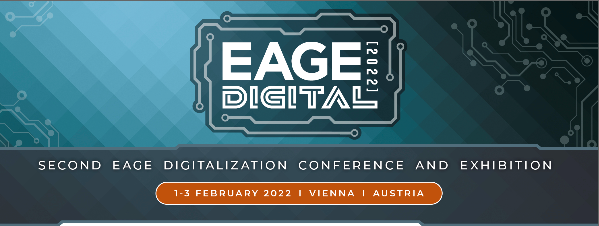 Second EAGE Digitalization Conference and Exhibition