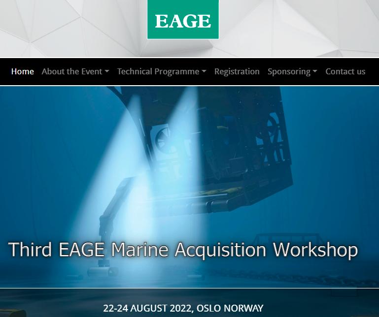 Third EAGE Marine Acquisition Workshop