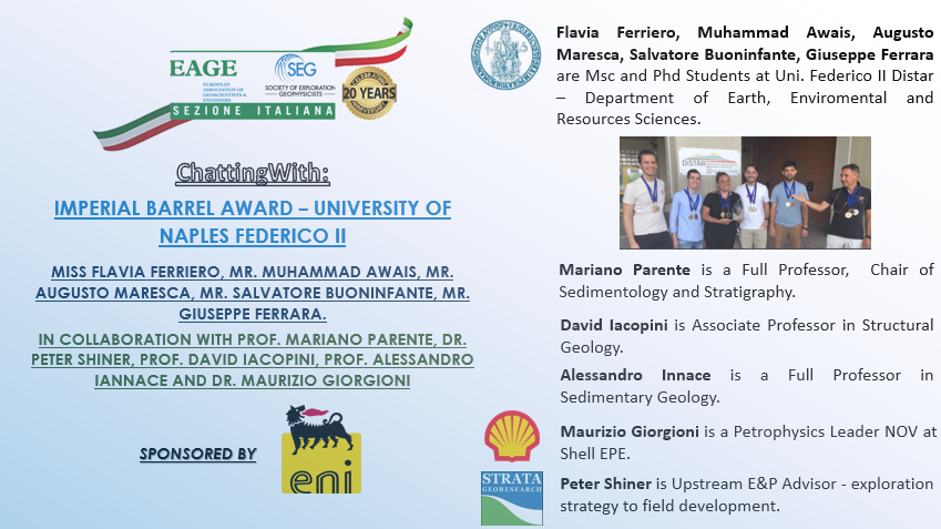 """""""ChattingWith"""" Imperial Barrel Award – University of Naples Federico II"""